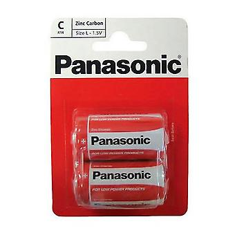 Panasonic R14RZ-2BP C Size Battery