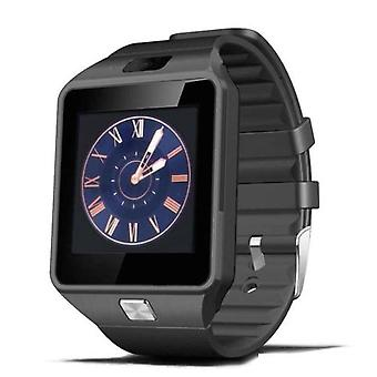 もの認定® オリジナル DZ09 スマートウォッチ Android スマート フォン時計 OLED iOS ブラック