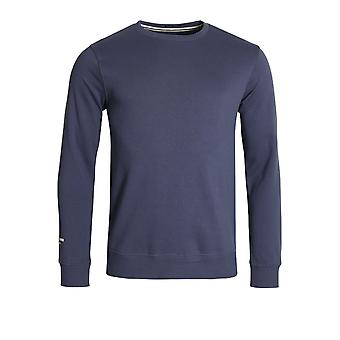 Weekend Offender Olivares Crew Neck Sweatshirt | Light Navy