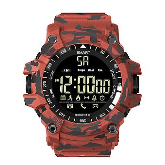 Ex16 Plus Sport wasserdicht Smartwatch-Red Camo