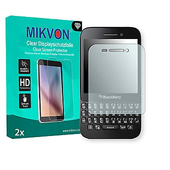 BlackBerry Q5 LTE Screen Protector - Mikvon Clear (Retail Package with accessories)