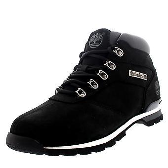 Heren Timberland Splitrock 2 wandelaar leren wandelen zwarte Ankle laars