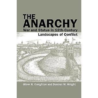 L'anarchie - guerre et l'état dans les paysages du 12ème siècle de conflits par