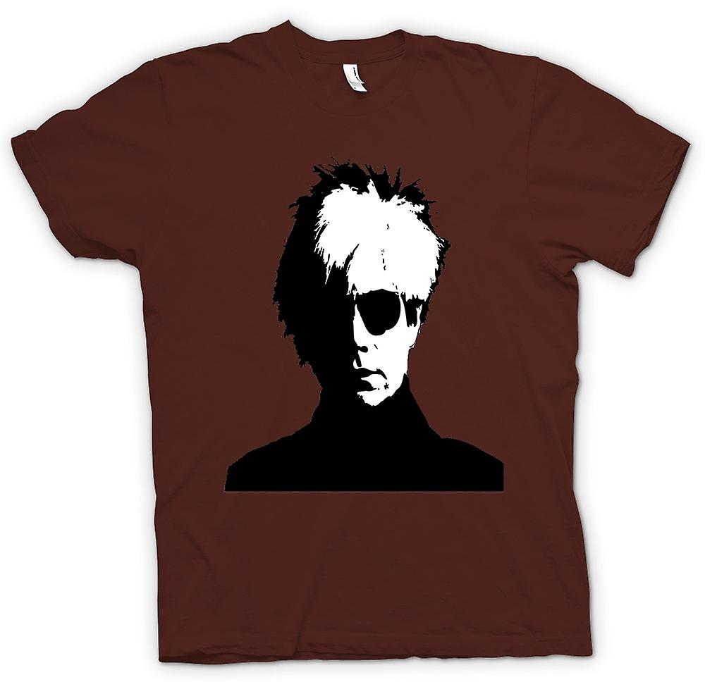 Herr T-shirt - Andy Warhol - BW - Pop Art