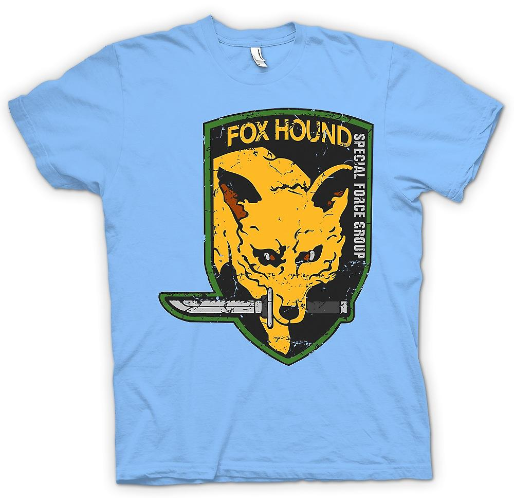 Mens t-shirt - Fox Hound - Special Forces Group - Gamer