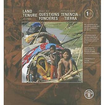 Land Tenure Journal by Jim Mac Laughlin - Sen Beattie - 9789250073378