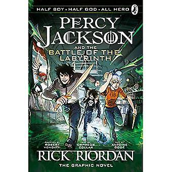 A batalha do labirinto: Graphic Novel (livro 4 de Percy Jackson)