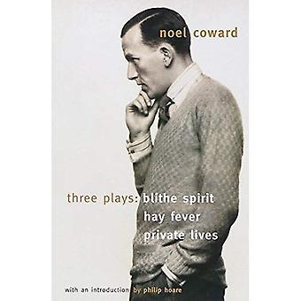 Tre spelar: Munter ande, hösnuva, privata liv