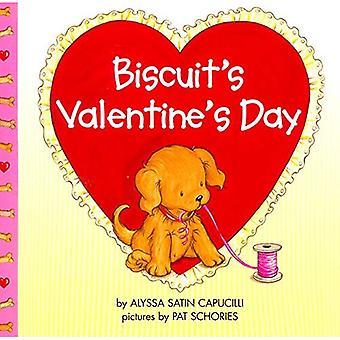 De biscuit van Valentijnsdag