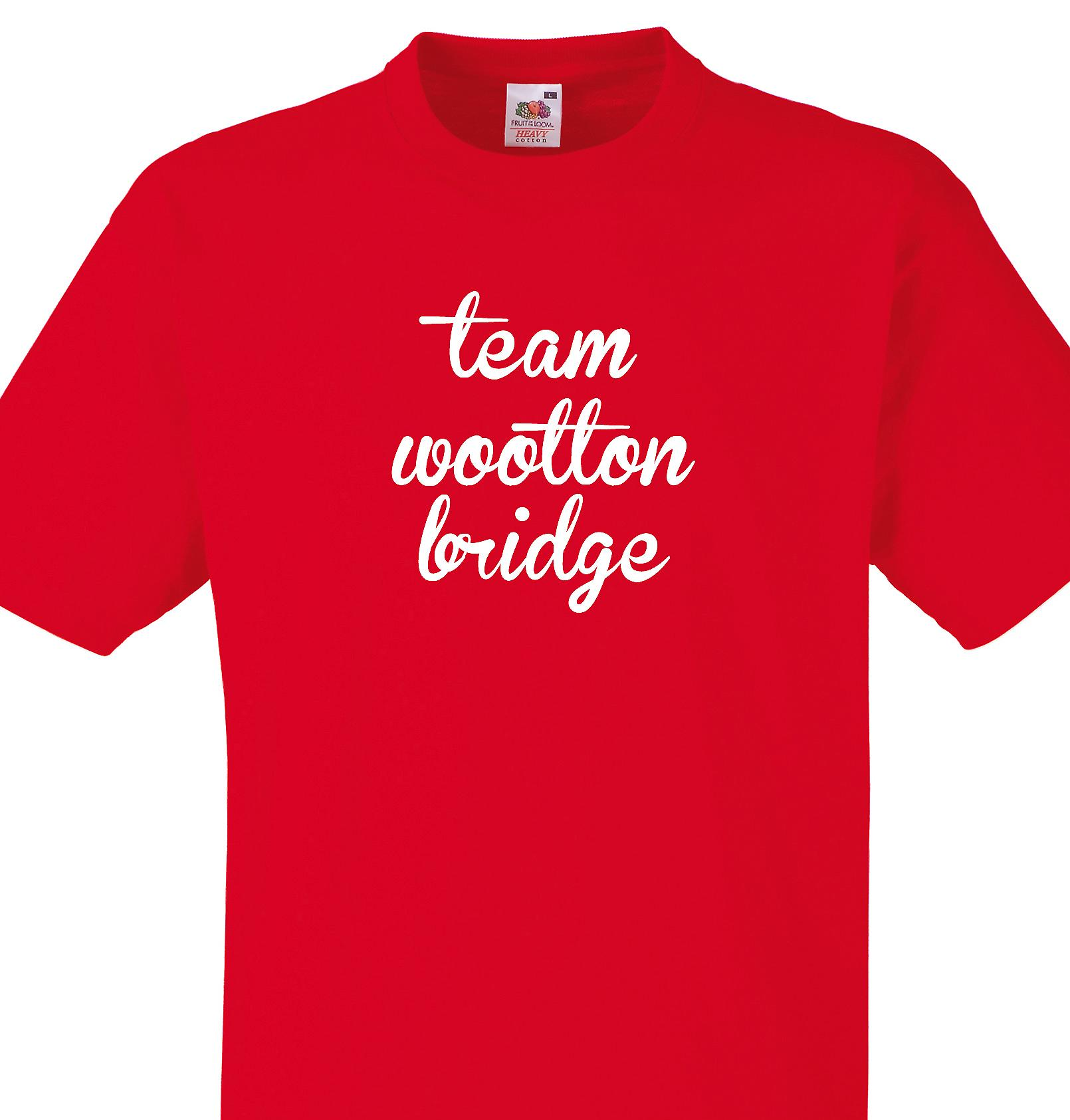 Team Wootton bridge Red T shirt