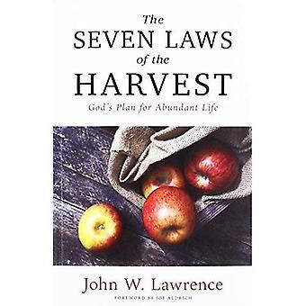 Skörden sju lagar: Gud bevisade Plan för överflödande liv
