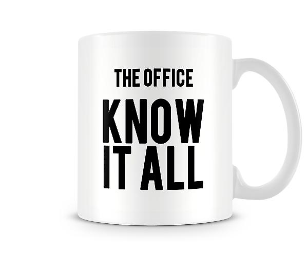 The Office Know It All Mug