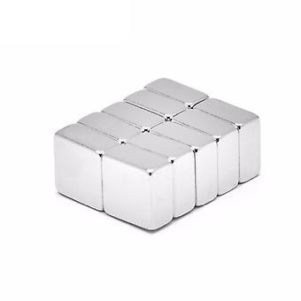 Neodymium magneet 10 x 10 x 5 mm blok N35 - 500 stuks