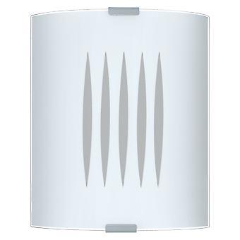 Eglo - Grafik de pared 1 luz vidrio satinado EG83132