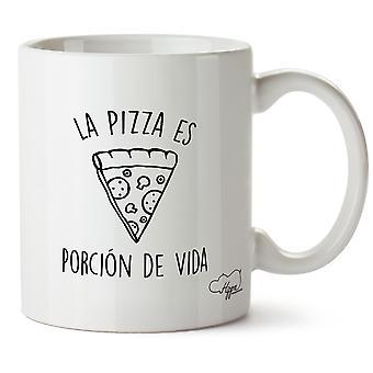 Hippowarehouse пицца это повседневность печатных Кубка керамическая кружка 10oz