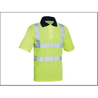 Scansione Hi-Vis giallo Polo Shirt - L
