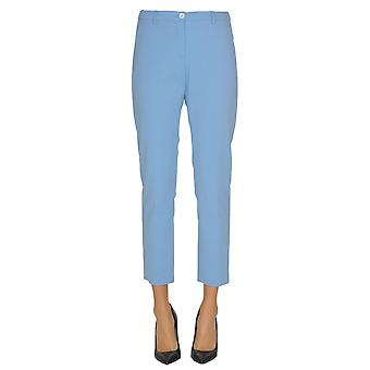 Seventy Light Blue Cotton Pants