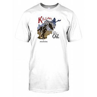 Drab i olie - Afghanistan Herre T-shirt