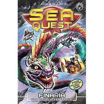 Finaria Savage sjøen slange av Adam Blade - 9781408328576 bok