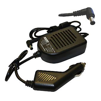 Fujitsu Siemens Lifebook E6595 portatile compatibile alimentazione DC adattatore auto caricabatterie