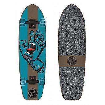 Santa Cruz Skateboard Jammer macchiato mano Med Cruzer 9,22 in x 33 in