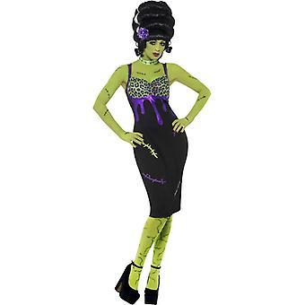 Pin-up Frankenstein damer drakt