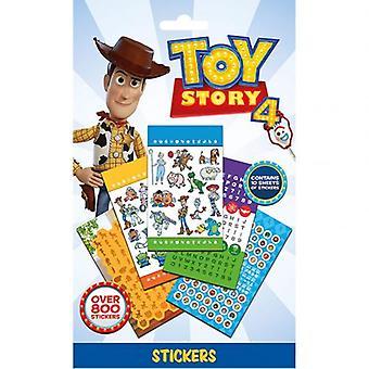 Toy Story 4 800pc klistremerke sett