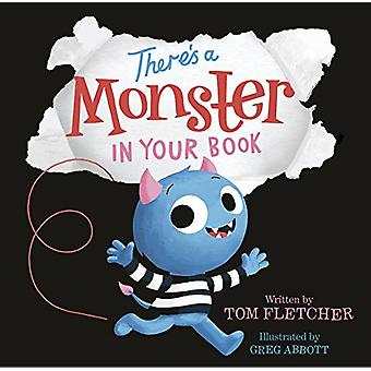 There's a Monster in Your Book by Tom Fletcher - 9781524764562 Book