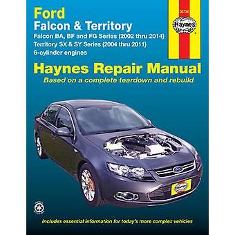 Ford Falcon / Ford Territory Automotive Repair Manual - 2002-2014 - 367