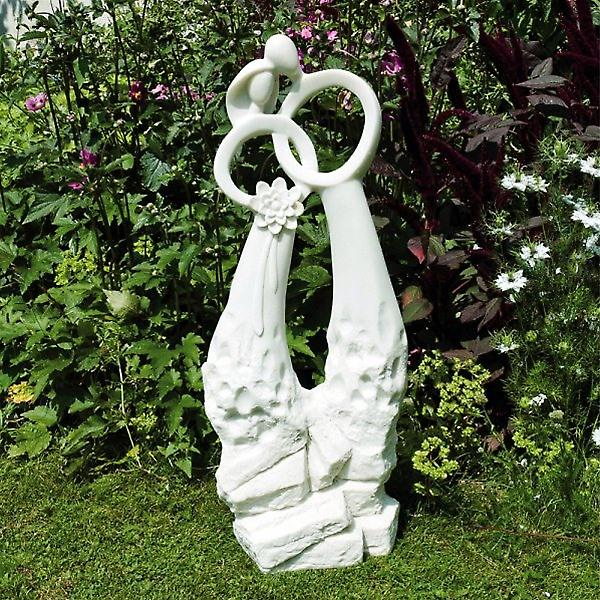 Solstice Sculptures Just Married Resin Garden Statue