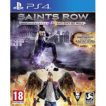Saints Row IV Re-Elected & Gat Out of Hell - Playstation 4