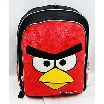 Backpack - Angry Birds - Red Birds Face (Large School Bag) New Book an8289