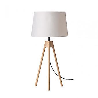 Premier hem stativ bordslampa, vit