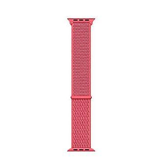 Apple 44mm sport loop hibiscus strap