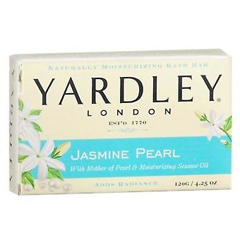 Yardley london bar soap, jasmine pearl, 4.25 oz