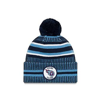 New Era Nfl Tennessee Titans 2019 Sideline Home Sport Knit