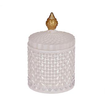 Scented Candle in glass jar with lid