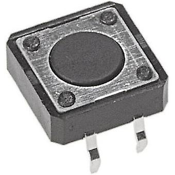 Pushbutton 12 Vdc 0.05 A 1 x Off/(On) APEM PHAP332