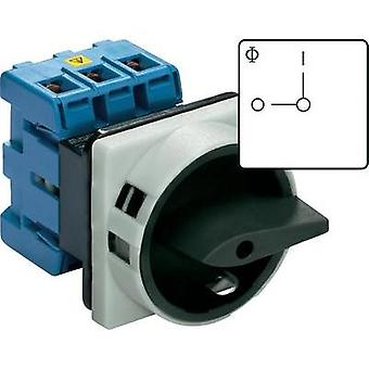 Isolator switch lockable 160 A 1 x 90 ° Black Kraus & Naimer KG160 T103/01 E 1 pc(s)