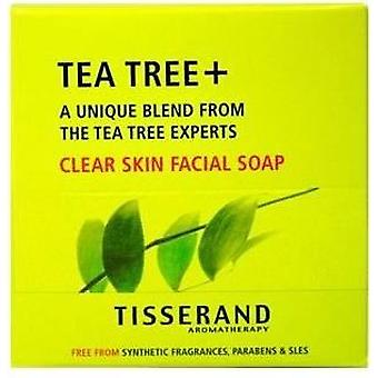 Tisserand Aromaterapia Tea Tree + Clear Skin Facial Soap