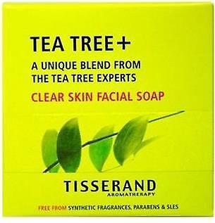 Tisserand Aromatherapy Tea Tree+ Clear Skin Facial Soap