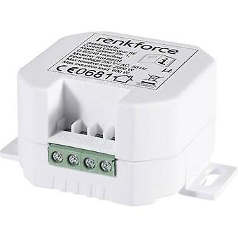 RS2W Wireless switch Flush mount 1-channel Switching capacity (max.) 2000 W Max. range (open field) 150 m