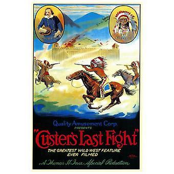 Custers sidste kamp film plakat Print (27 x 40)