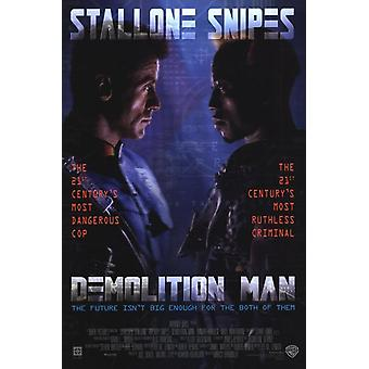 Demolition Man Movie Poster (11 x 17)
