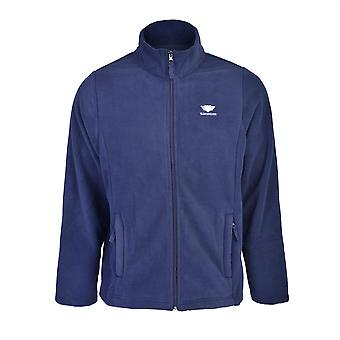 Slimbridge Sanford Size XL Mens Fleece Jacket, Navy
