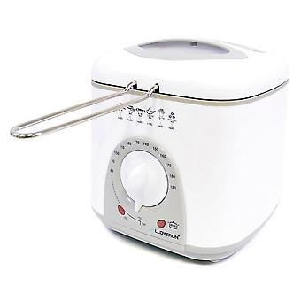 Lloytron KitchenPerfected 1.0Litre Compact Deep Fryer 950W - White (E6010WI)