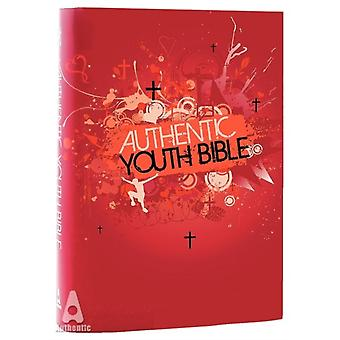 ERV Authentic Youth Bible Red (Easy Read Version) (Bible Easy Read Version) (Hardcover) by Bible League International