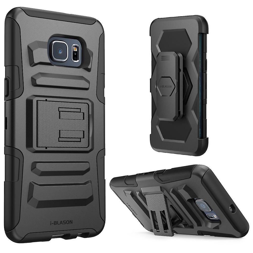 i-Blason Galaxy S6 Edge Plus Prime Series Holster Case - Black