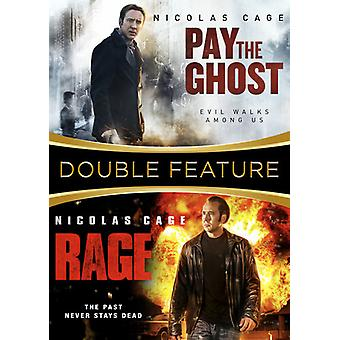 Rage / Pay the Ghost [DVD] USA import