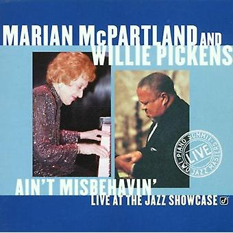 McPartland/Pickens - Ain't Misbehavin-Live på J [CD] USA import